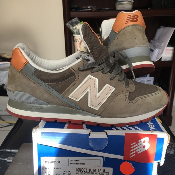 free shipping 9bf0c 86558 New Balance 996 Made In USA size 10